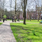 Winckley Square in Spring