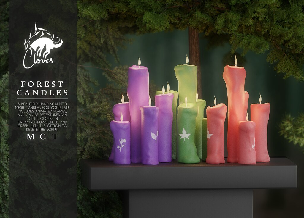 Clover - Forest Candles