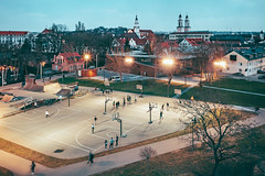 Basketball | Kaunas aerial #107/365