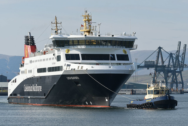 MV Loch Seaforth -- Greenock -- 17-04-21