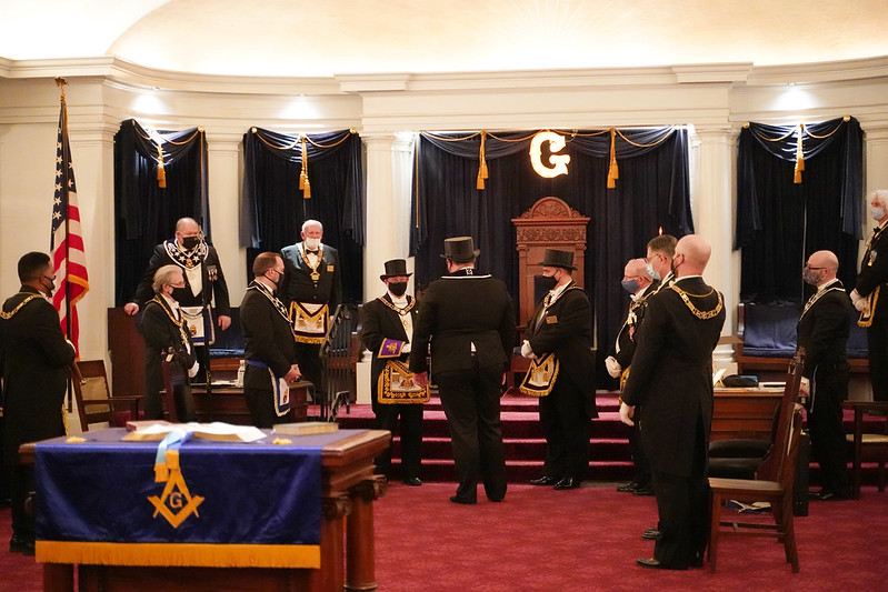 Grand Master Visitation to Jenks Lodge 2021