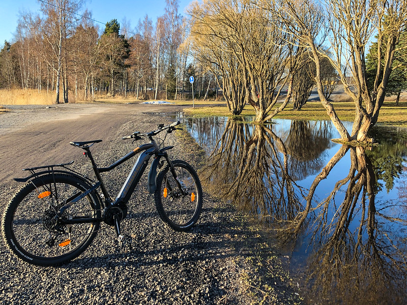 2021w15 The first test of my new e-bike