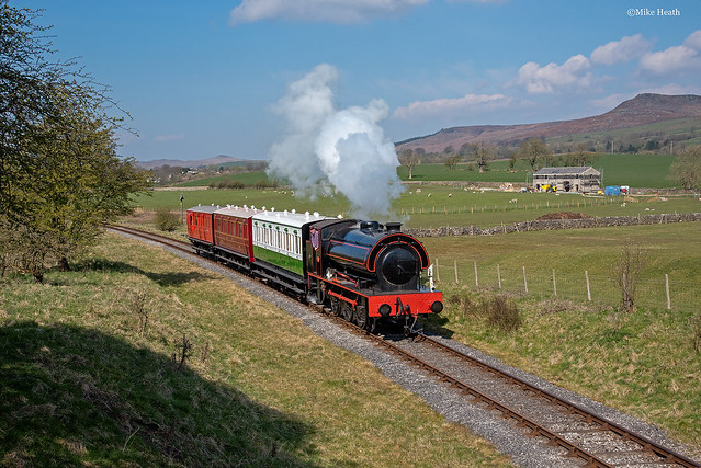 Embsay & Bolton Abbey Steam Railway - Vintage Trains - 17 April 2021