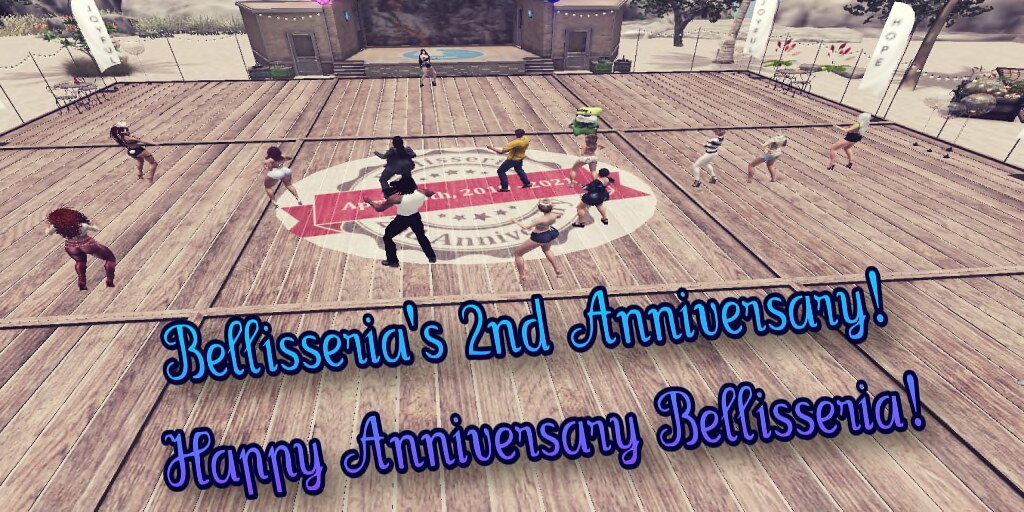 Bellisseria 2nd Anniversary celebration