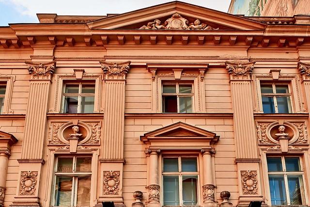 Vintage building look