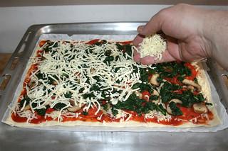 16 - Dredge with more cheese / Mit mehr Käse bestreuen