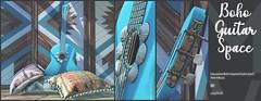 Boho guitar space@Anthem Event