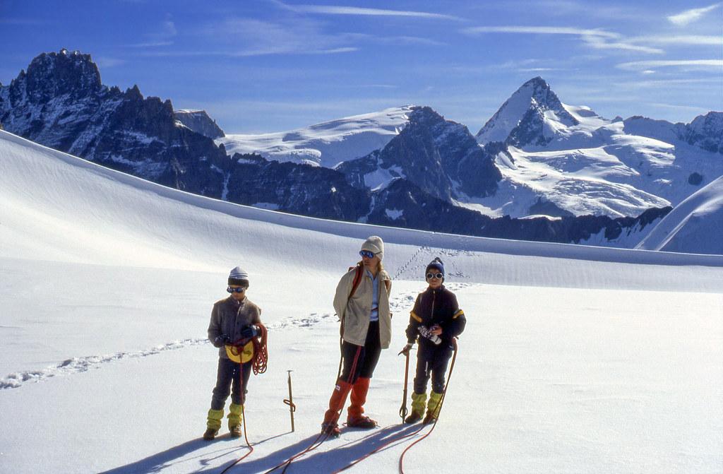 Arrivo al Col de l'Evêque (3.379 m)
