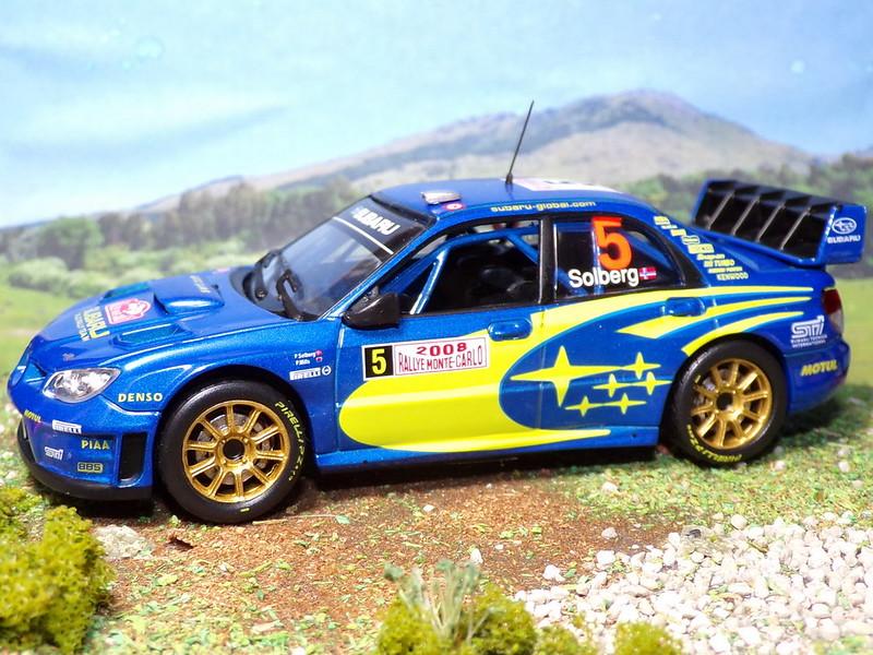 Subaru Impreza WRC – Montecarlo 2008