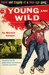 Avon Books T-229 - Morton Cooper - Young and Wild
