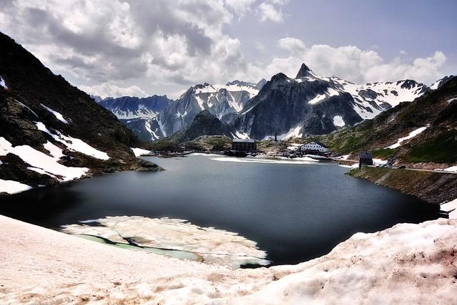 The Great Saint Bernard Pass