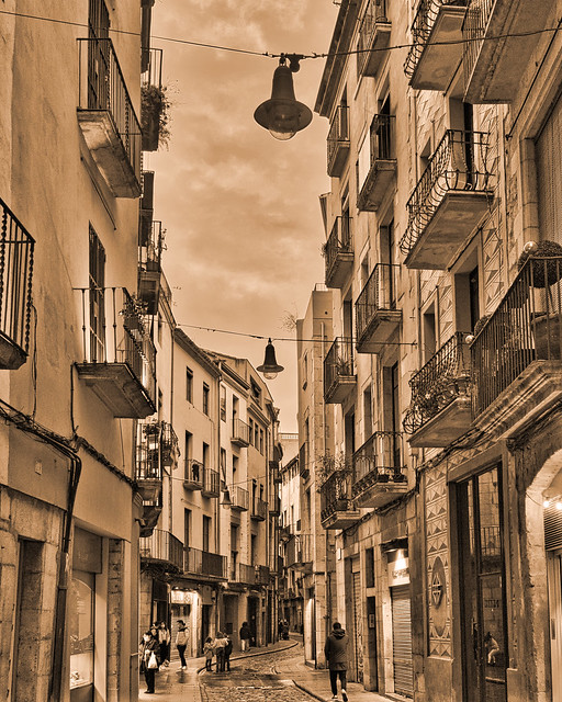 Girona - Carrer Ballesteries