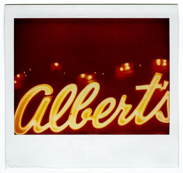 albert's liquor (polaroid 339). culver city, ca. 2001.