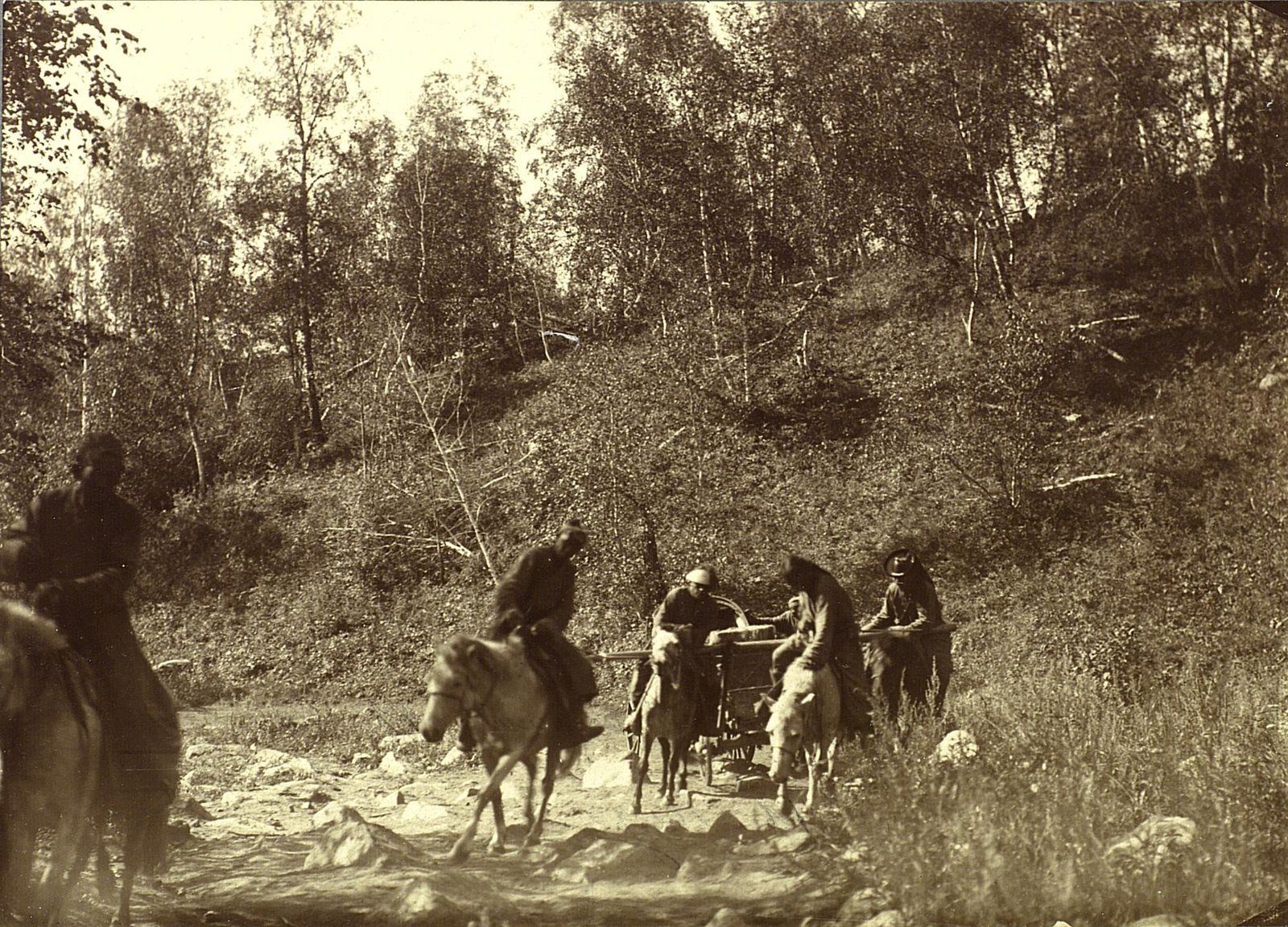 Подъем на хребет Манхинта