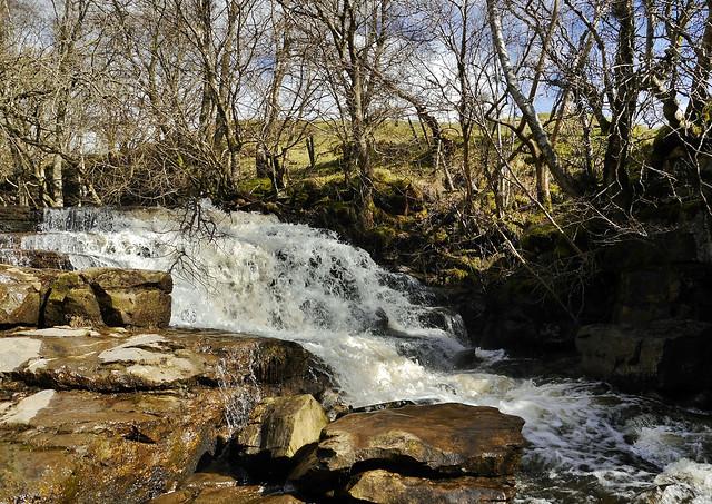 Kisdon Force (Yorkshire Dales National Park,) Keld
