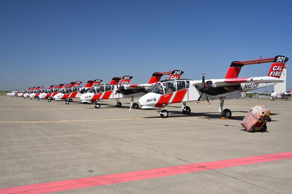 CAL FIRE OV-10s at MCC (1)