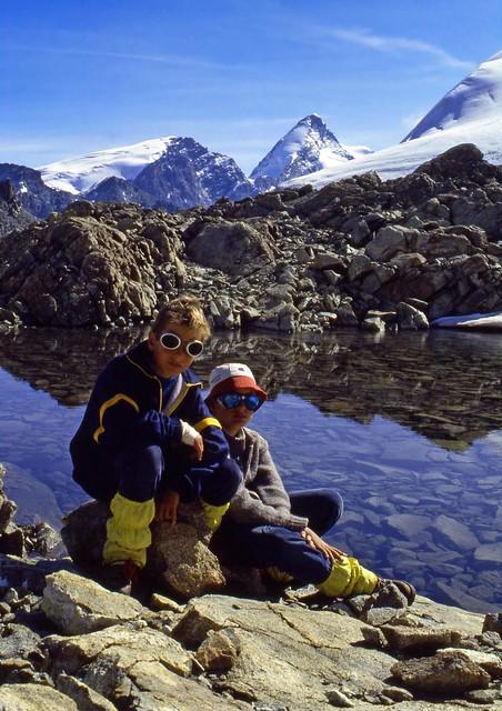 Sosta al Col Collon (3.068 m)