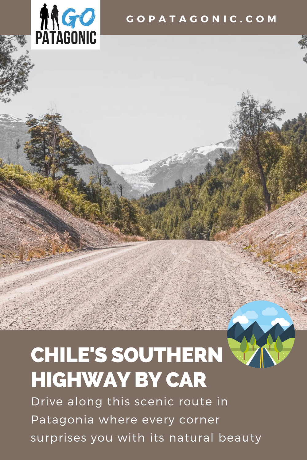 Drive the Southern Highway in Chile (Carretera Austral) - with map