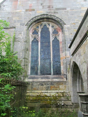 Stained Glass Window, Culross Abbey Church