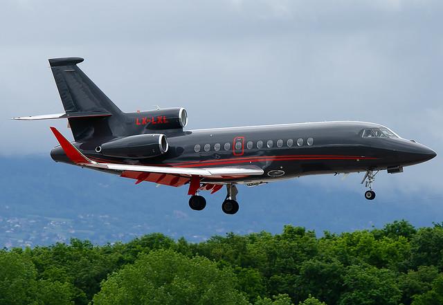 LX-LXL Global Jet Luxembourg Dassault Falcon 900LX