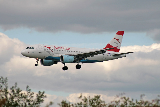 OE-LDE Airbus A-319-112 Austrian Airways