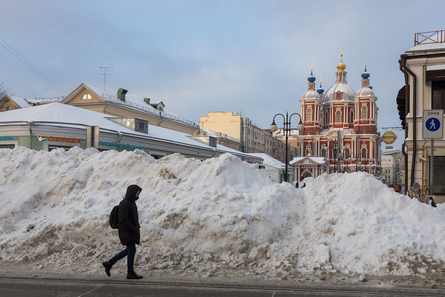 A grand total of Russian winter. Moscow, Russia. Feb.2021 (0U4A0970)