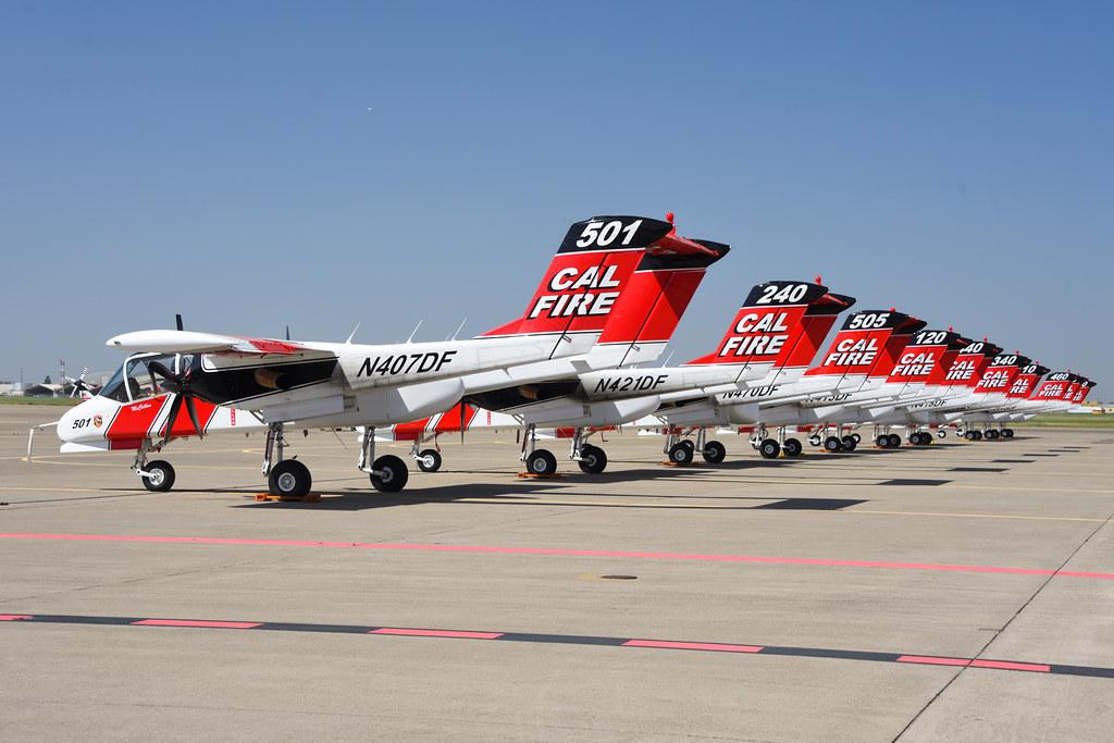 CAL FIRE OV-10s at MCC (2)