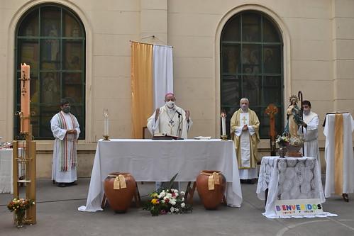 Inmaculada Concepción (Burzaco) recibe a su nuevo párroco