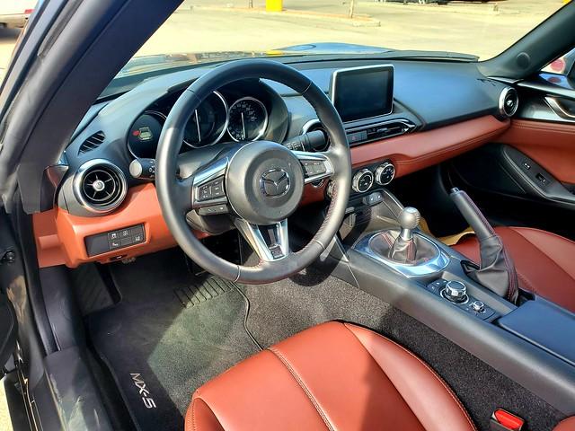 GT interior