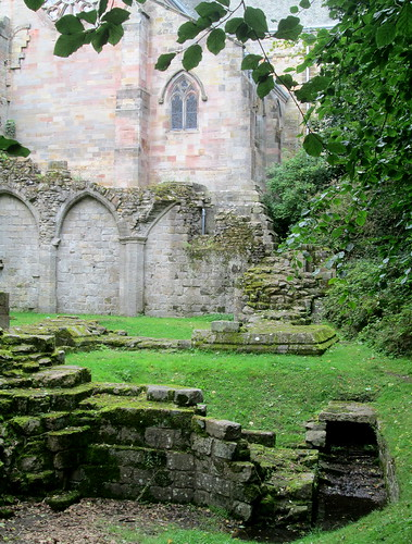Ruins at Culross Abbey