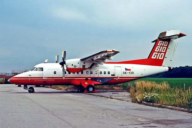 OK-130   Let L-610M [880001] (LET)  Kunovice~OK 20/06/1996