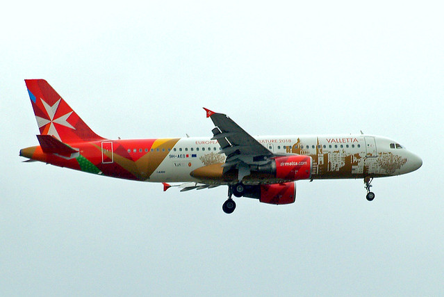 9H-AEO   Airbus A320-214 [2768] (Air Malta) Home~G 12/06/2013
