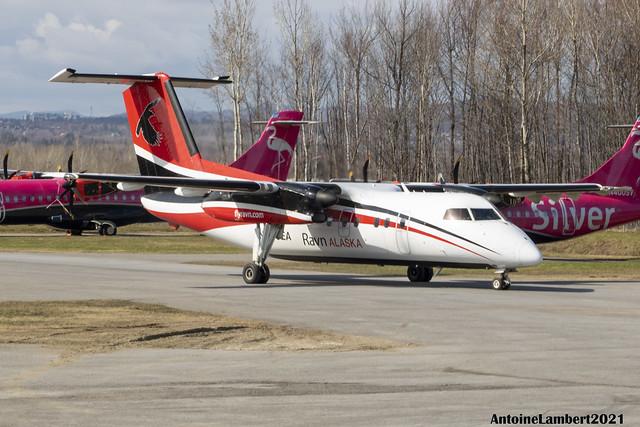Ravn Alaska De Havilland Canada Dash8-100 N880EA YQB
