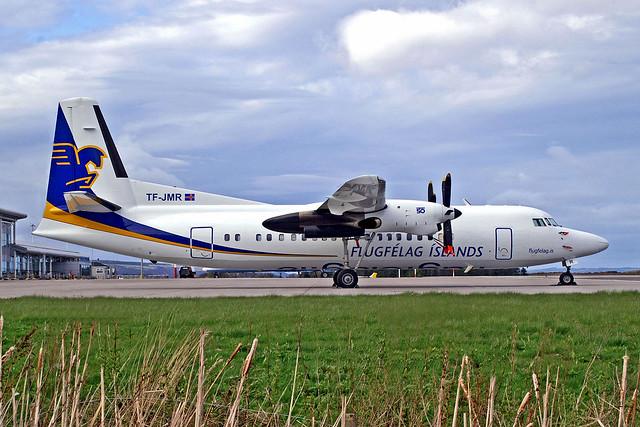 TF-JMR   Fokker F-50 [20243] (Flugfelag Islands) Inverness (Dalcross)~G 16/04/2011