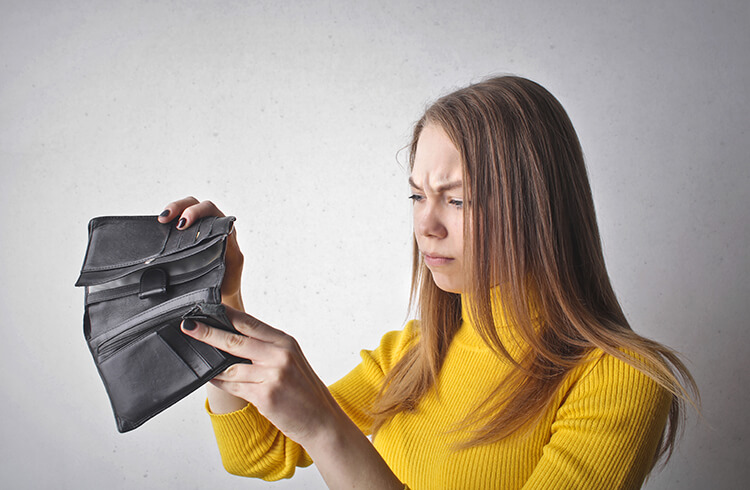 Lost money during travel