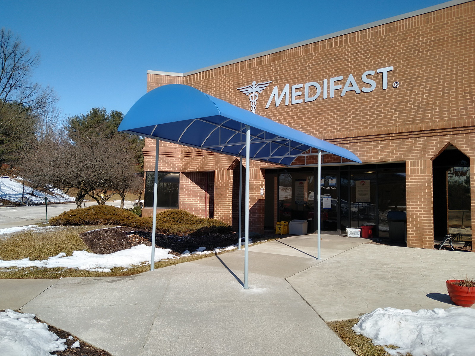 Entrance Canopy - Commercial Awning - Hoffman Baltimore