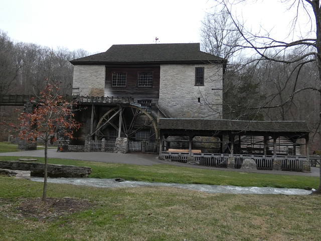 Spring Mill State Park, Indiana - Pioneer Village - The Village Mill