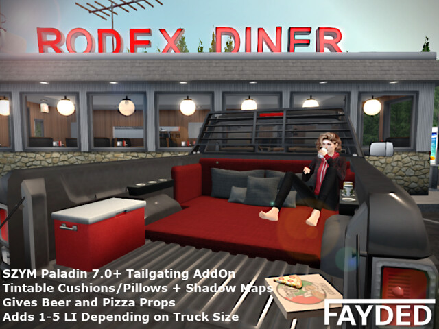 FAYDED - Paladin Chillin' Tailgating AddOn