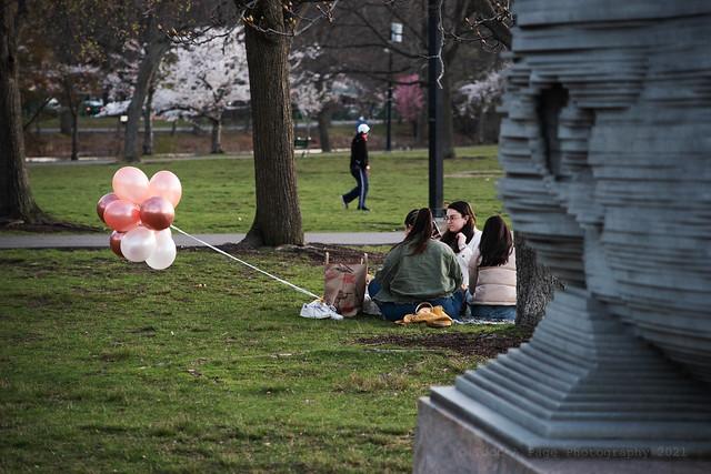 balloons in Boston