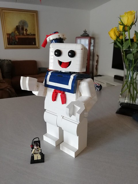 Stay Puft Maxifig WIP