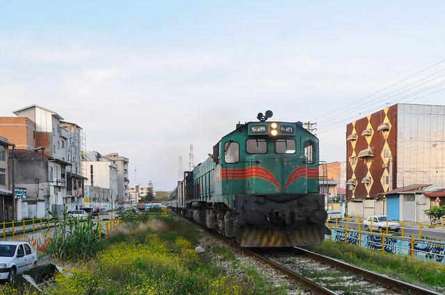 train leaving Quamshahr