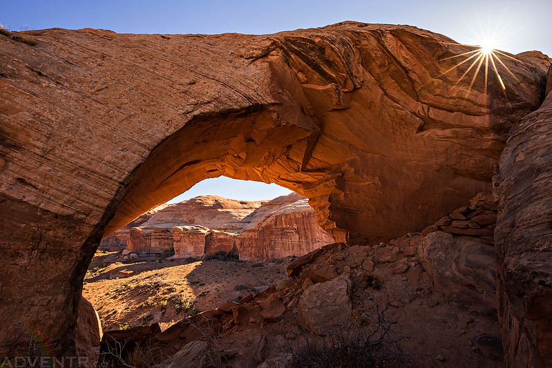 Robbers Roost Arch Sunstar