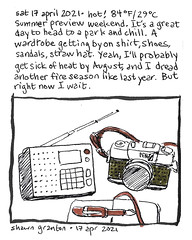 Journal Comic, 17 April 2021. Summer preview.