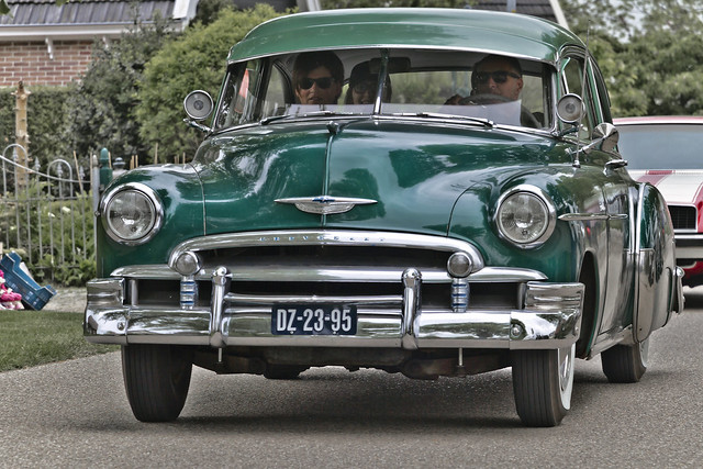 Chevrolet Styleline DeLuxe Sedan 1950 (8613)
