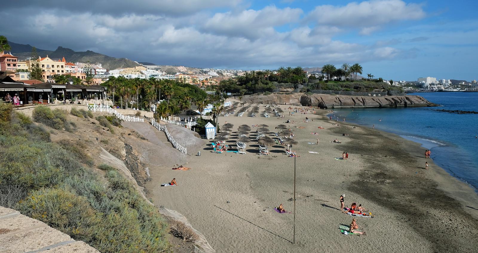 El Duque Beach, Costa Adeje, Tenerife, Canary Islands, Spain