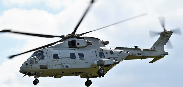 AgustaWestland EHI Merlin HC.4 Royal Navy Helicopter ZJ122