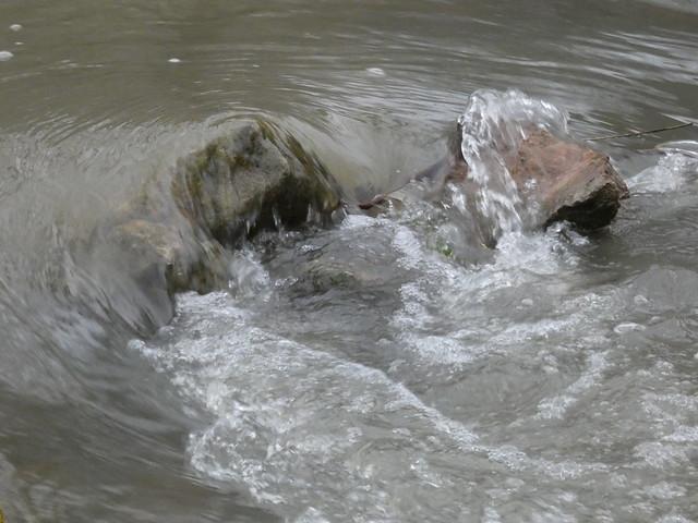 Spring Mill State Park, Indiana - Pioneer Village - Overflowing Creek Bed Rapids