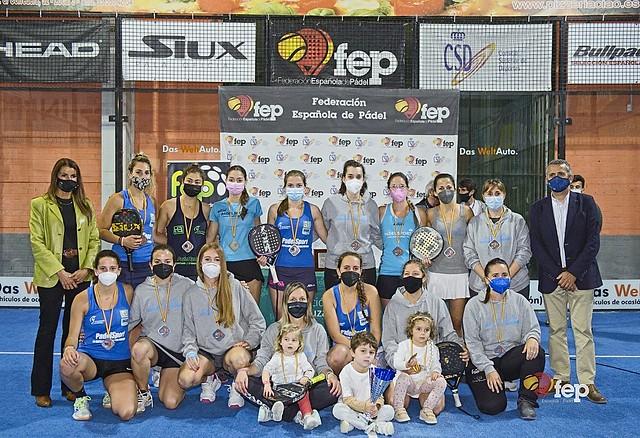 Subcampeonas La Capellanía cto España equipos 2 categoría Dupdo59