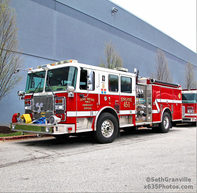 Fort Meade Fire & Emergency Services Engine 452