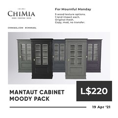 Mantaut Cabinet Moody Pack for Mournful Monday by ChiMia